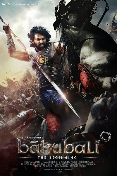 Baahubali: Ba�lang�� | Baahubali: The Beginning | 2015 | BDRip XviD | T�rk�e Dublaj