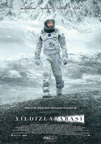 Yıldızlararası - Interstellar 2014 1080p 720p - Türkçe Dublaj İndir