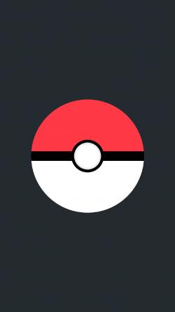 Pokemon Go pokeball black Iphone hd wallpaper
