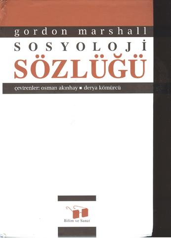 gordon-marshall-sosyoloji-sozlugu-pdf-e-kitap-indir - MehmetKYGSZ