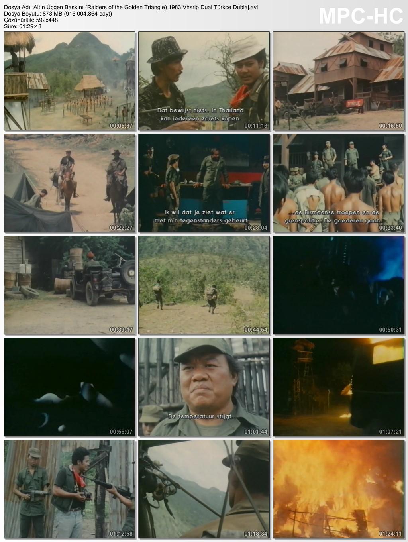 Altın Üçgen Baskını (Raiders of the Golden Triangle) 1983 Vhsrip Dual Türkce Dublaj - barbarus