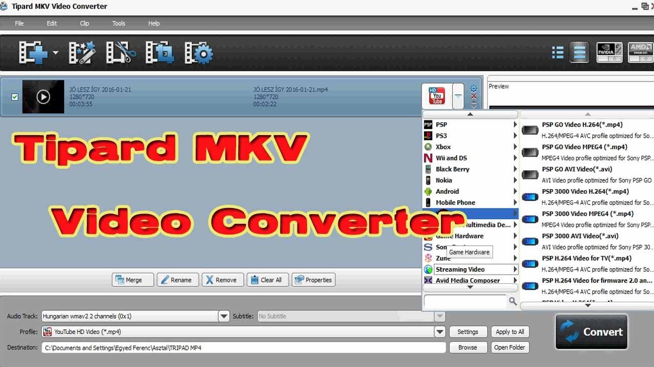 TIPARD MKV VIDEO CONVERTER 6 1 50 НА РУССКОМ ЯЗЫКЕ СКАЧАТЬ БЕСПЛАТНО