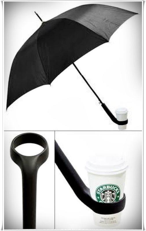 starbuks tutuculu şemsiye