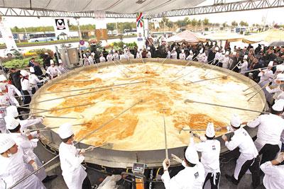 En büyük omlet
