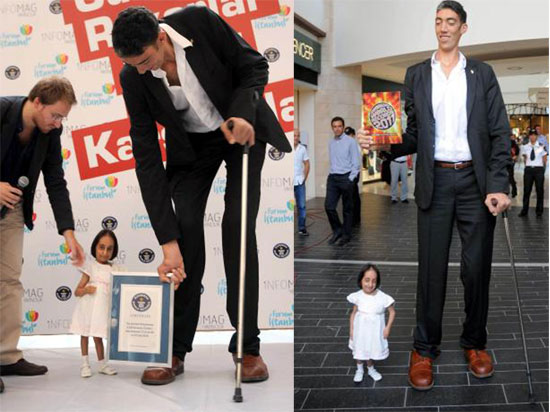 En kısa boylu kadın (Elif Kocaman