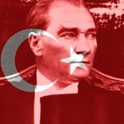 Turk bayragi, Ataturk ve Turk bayragi, Atatuk, Turk bayragi