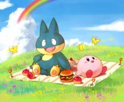 poke piknikte
