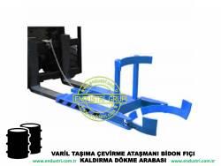 varil taşıma arabası varil devirme kaldırma boşaltma elleçleme paletleme yerleştirme dökme ataşmanı fiyatı (22)