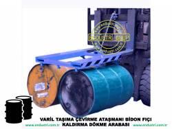 varil taşıma arabası varil devirme kaldırma boşaltma elleçleme paletleme yerleştirme dökme ataşmanı fiyatı (28)