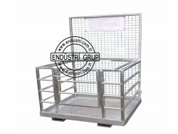 forklift insan tasima sepeti personel kaldirma platformu tamir bakim sepetleri imalati fiyati (31)