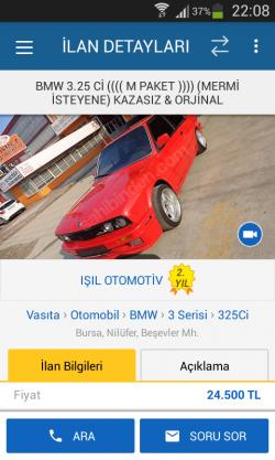 ışıl Otomotiv 0531 422 11 15.